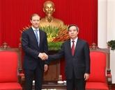 Un responsable vietnamien rencontre le ministre russe de l'Industrie et du Commerce