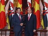 Nguyên Xuân Phuc souligne l'importance du partenariat intégral Vietnam - Brunei