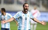 Argentine: Higuain annonce la fin de sa carrière internationale