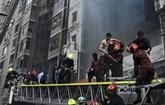 Incendie d'un immeuble à Dacca: au moins 25 morts