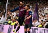 Le Barça s'envole à Madrid, avec les ultimes espoirs du Real