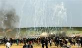 Manifestations massives attendues à Gaza pour un anniversaire à risque