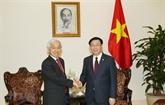 Un vice-PM vietnamien salue lintérêt de J Trust pour la restructuration de CBBank