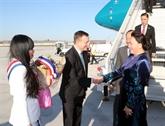 La présidente de l'Assemblée nationale vietnamienne entame sa visite en France