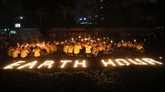 Pour l'Earth Hour, les lumières s'éteignent à travers le monde