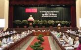 Clôture de la 26e réunion du Comité municipal du Parti de Hô Chi Minh-Ville
