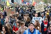 Bruxelles: 8.000 personnes marchent pour le climat