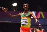 Athlétisme: record du monde du mile en salle pour l'Éthiopien Kejelcha