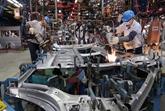 La production industrielle du pays diminue de 16,8% en février