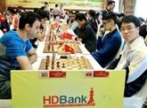 Le Tournoi international d'échecs HDBank 2019 attire 300 joueurs