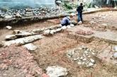 Les restes d'une pagode du Xe siècle ont été mis au jour
