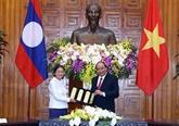 Le Premier ministre salue les relations spéciales Vietnam - Laos