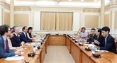 Hô Chi Minh-Ville renforce ses liens avec l'Agence française de développement
