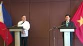 Renforcement des relations Vietnam - Philippines