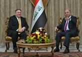 Le PM irakien et le secrétaire d'État américain discutent de la présence américaine en Irak