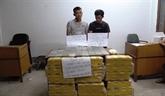 Arrestation de deux trafiquants de drogue laotiens