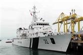 Le navire ICGS VIJT des Garde-côtes indiens à Dà Nang