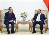 Le Premier ministre reçoit le président du groupe japonais Maruhan