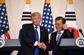 Dénucléarisation: Trump recevra Moon jeudi 11 avril