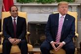 Trump et Sissi discutent de dossiers régionaux et de la question de l'eau