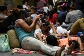 Un millier de Honduriens se rassemblent pour une nouvelle caravane vers les États-Unis