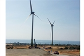 Ninh Thuân: inauguration de la centrale éolienne de Mui Dinh