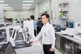 Inauguration du système Aptio Automation à l'hôpital Cho Rây