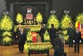 Les dirigeants rendent hommage au lieutenant-général Dông Sy Nguyên