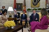 Donald Trump évoque un troisième Sommet avec Kim Jong Un