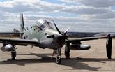 L'armée libanaise reçoit un avion américain A-29 Super Tucano