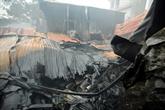 Huit victimes dans un incendie à Hanoï