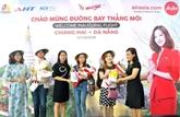 AirAsia : le premier vol direct Dà Nang et Chiang Mai