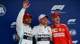 Bottas affirme la domination des Mercedes