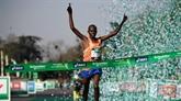 Victoires des Éthiopiens chez les messieurs et dames au marathon de Paris