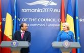 Vietnam - Roumanie: conférence de presse entre les deux Premiers ministres