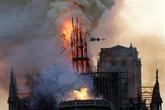 Début d'accalmie à Notre-Dame, la piste accidentelle privilégiée