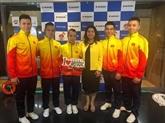 Le Vietnam décroche trois médailles d'or lors de la Coupe du monde