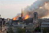 Dans Notre-Dame ravagée, limpression dun bombardement