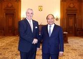 Nguyên Xuân Phuc rencontre le président de la Chambre des députés de Roumanie