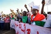 Les manifestants intensifient la mobilisation pour un pouvoir civil