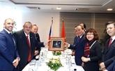 Des activités du Premier ministre en République tchèque