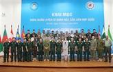 Ouverture d'un cours d'entrainement d'officiers de logistiques de l'ONU