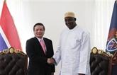 Renforcement des relations Vietnam - Gambie