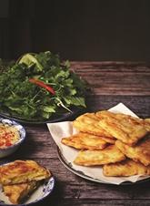 Galette frite à la patate douce