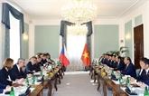 Déclaration commune Vietnam - République tchèque