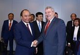 Nguyên Xuân Phuc reçoit le président du Parti communiste de Bohême et Moravie