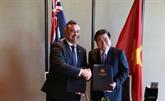 Vietnam - Australie:jumelage entreHô Chi Minh-Ville et la Nouvelle-Galles du Sud