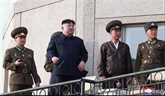 RPDC: Kim Jong Un supervise l'essai d'une nouvelle arme tactique guidée