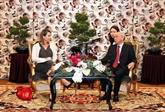 Une délégation américaine en visite de travail à Hô Chi Minh-Ville