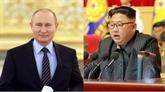Kim Jong Un rencontrera Poutine en Russie fin avril